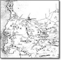 Cartina Antica Sardegna.Cenni Storici